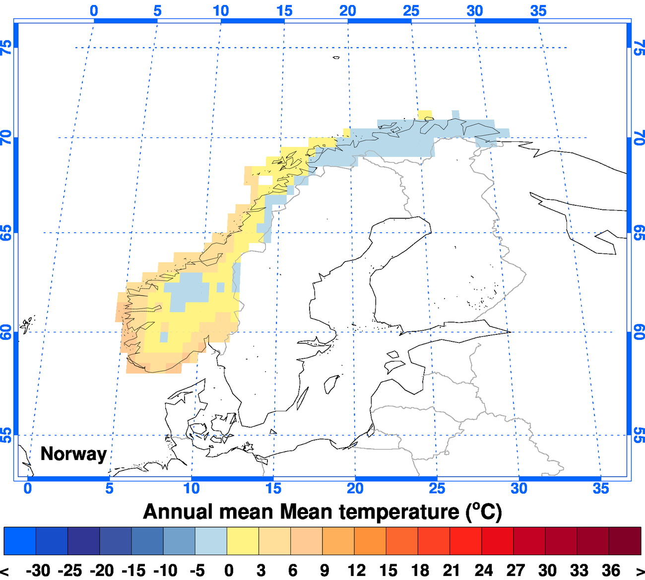 climgen norway climate observations