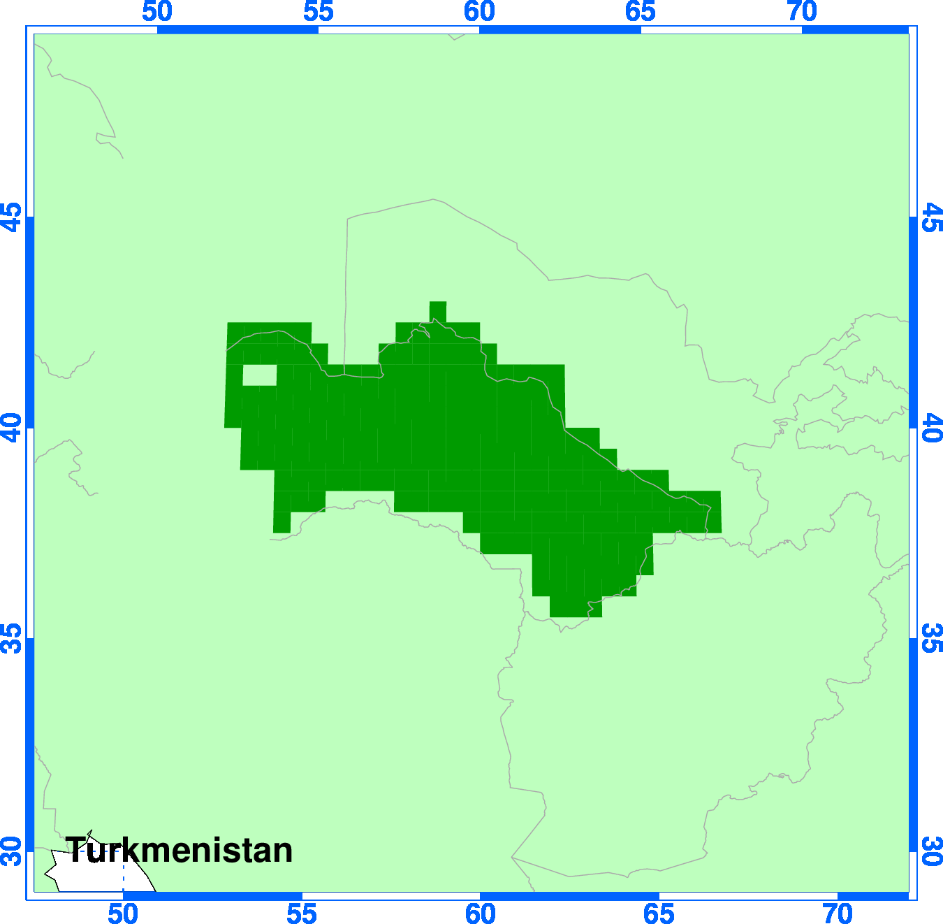 ClimGen Turkmenistan climate projections observations